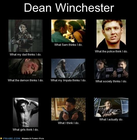 Supernatural Funny Memes - dean winchester supernatural meme tv shows pinterest dean winchester supernatural dean