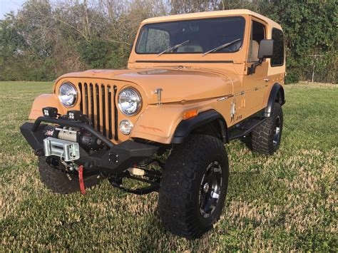 Restored Jeeps For Sale Restored 1978 Jeep Cj Cj7 Offroad For Sale