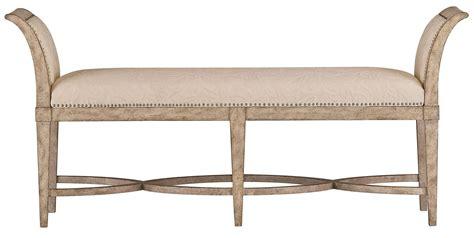 end bench coastal living resort sandy linen surfside bed end bench
