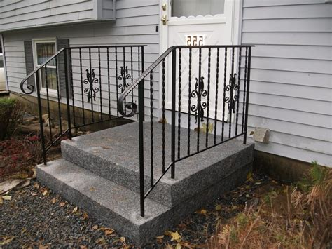 wrought iron banister railing exterior wrought iron stair railing kits n51 verambelles