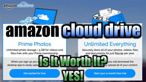 amazon hosting amazon cloud drive review setup demo youtube