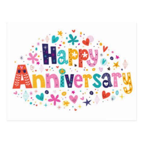 doodle happy anniversary doodle cards zazzle