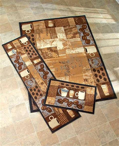 area accent rugs coffee themed nonskid area accent runner rug kitchen