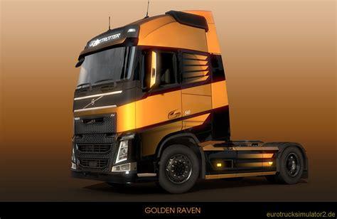 golden trucks der scs polar express truck simulator 2