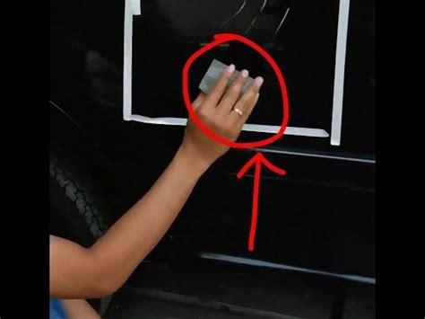 American Magic Polisher Baret Pada Mobil Putih cara aneh unik viral menghilangkan baret lecet mobil motor dengan american magic polisher