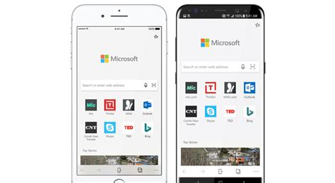 microsoft explorer for android microsoft edge is coming to android and ios