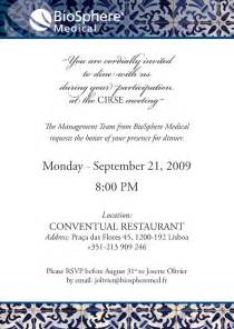 best photos of business event invitations wording business dinner invitation wording business
