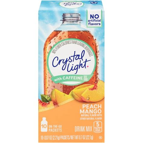 Light Caffeine by Light With Caffeine On The Go Mango Drink