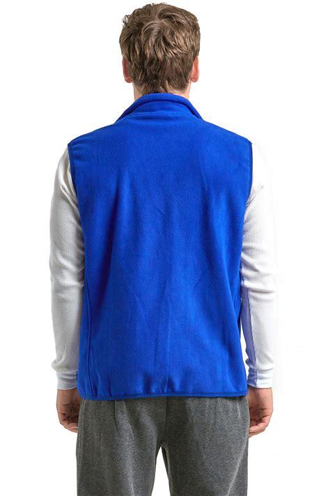 Polar Fleece Zip Jacket polar fleece vest zip up sleeveless jacket warm winter