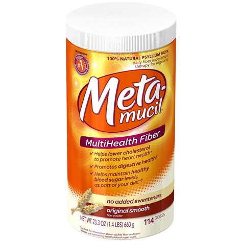 Free Metamucil Fiber Kit Sle by Metamucil Multi Health Fiber Powder Original 1 46 Lb