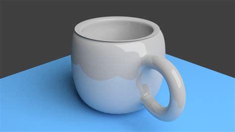 tutorial blender cup 3d cup i made using blender by evanest on deviantart