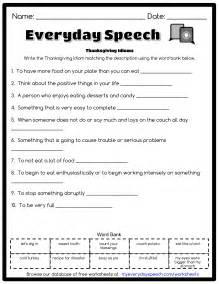 thanksgiving idioms everyday speech