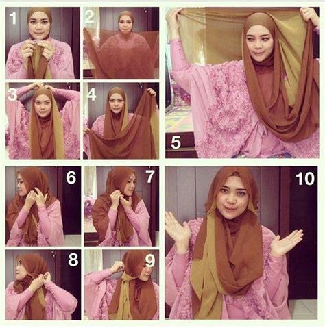 tutorial hijab syar i kivitz hijab tutorial のおすすめ画像 98 件 pinterest ヒジャブスタイル ヒジャブの
