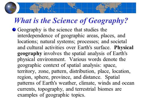geography pattern words geosystems robert w christopherson fifth edition ppt