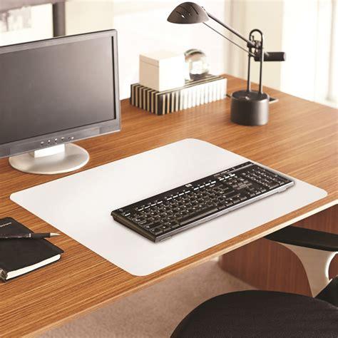 Es Robbins Color Pop Desk Pad Rectangle 36 Quot Width X 20 White Desk Mat