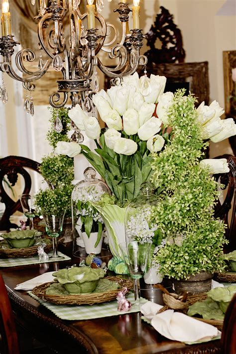 easter dining room table decor ideas
