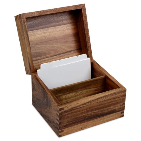 cutlery more cutlery and more acacia wood recipe box cutlery and more