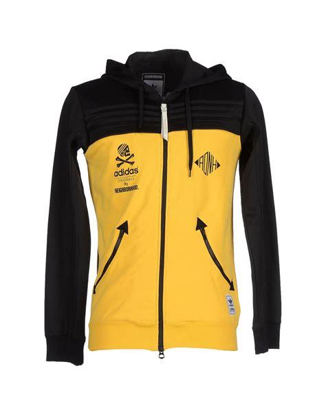 Sweatshirt Adidas 1 adidas originals sweatshirt in yellow for lyst