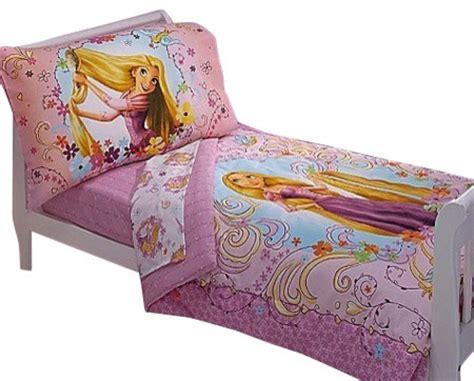 Princess Toddler Bedding Set Disney Tangled Toddler Bedding Set 4 Princess Rapunzel Bed Contemporary Toddler