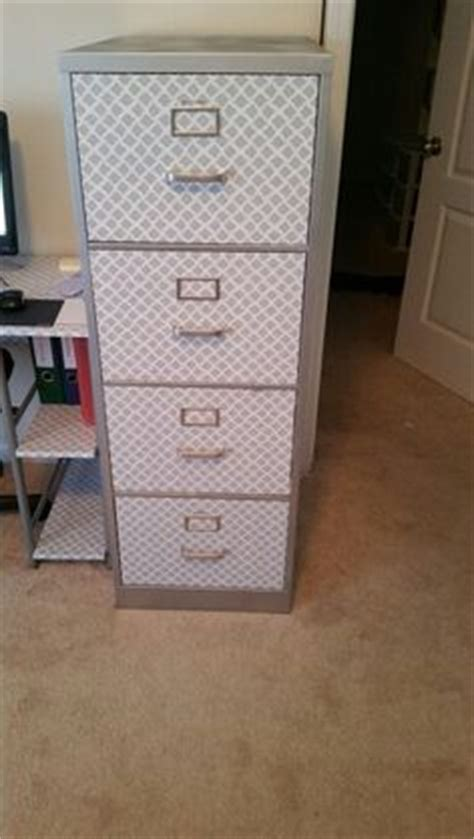 contact paper desk makeover 1000 ideas about filing cabinet makeovers on pinterest