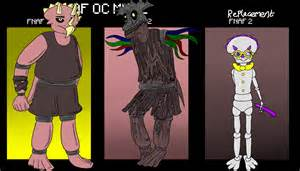 Fnaf character creator scariest animatronic by elfofcourage on