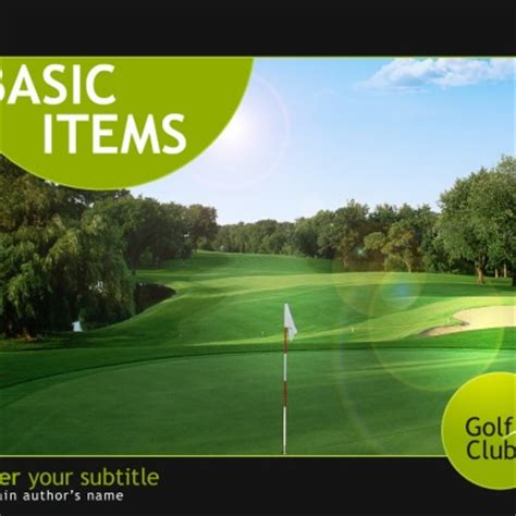 golf powerpoint templates golf powerpoint templates