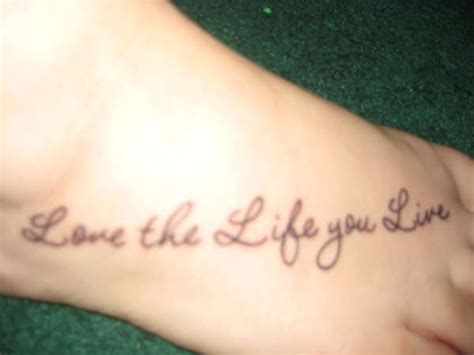 love the life you live tattoo designs the gallery for gt the you live designs