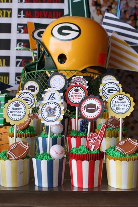 sports themed birthday decorations sports party with really fun ideas via kara s party ideas