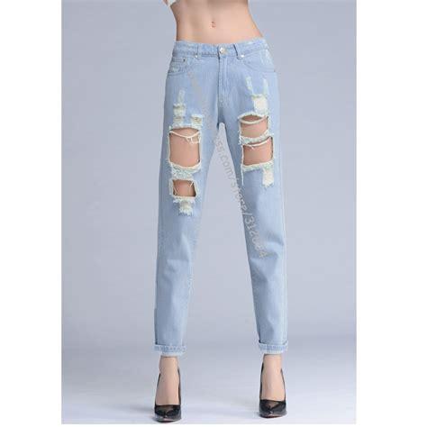 Denim Ripped Shorts 27 28 12363 aliexpress buy fashion holes denim