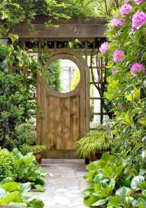 backyard gates lilac cottage the garden gate