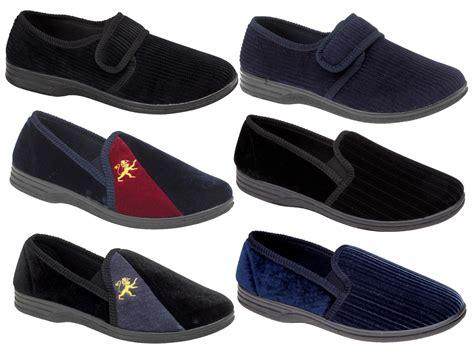 Slippers 12 Additional large mens slippers slip on mules velour large sizes gift size 11 12 13 14 ebay