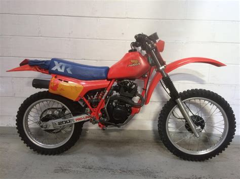 vintage motocross bikes for sale uk honda xr200 1983 for sale