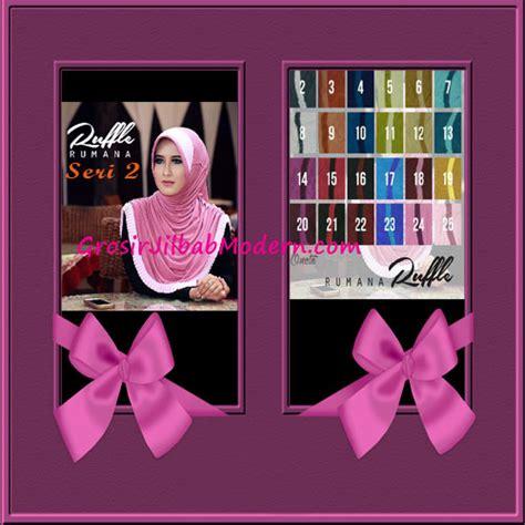 Jilbab Instan Kerudung Syiria Ruffle jilbab instant modis bergo rumana ruffle 2 series grosir