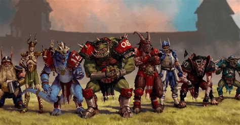 blood bowl football races teams players