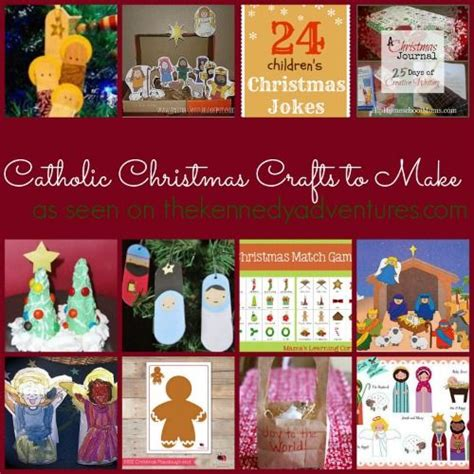 catholic christmas crafts to make