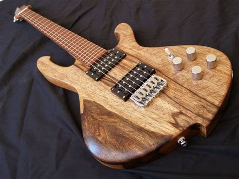 Handcrafted Electric Guitars - handmade six string electric guitar the highline griffon