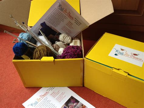 knitting kit for knit kits knit for peace