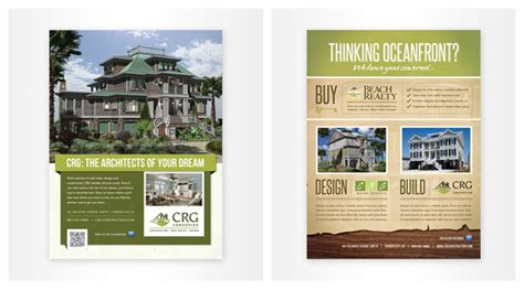 custom home builder magazine myrtle beach custom printing flyer brochure menu design inkhaus creative a graphic web