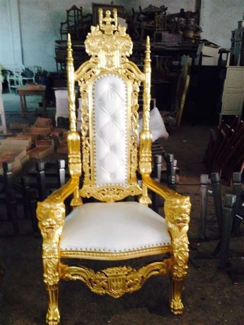 antique king throne chair high back baroque throne king chair buy king and