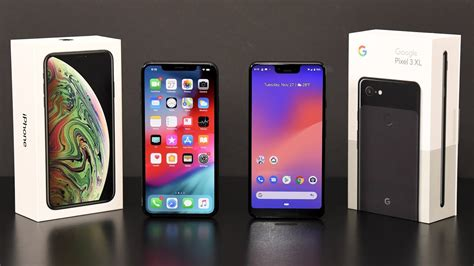 iphone xs max vs pixel 3 xl comparison review