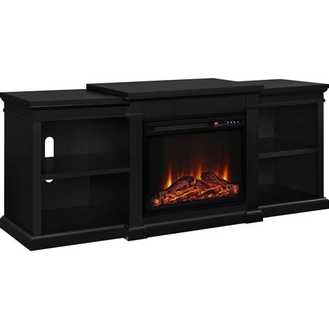 altra manchester fireplace 70 in tv stand with side