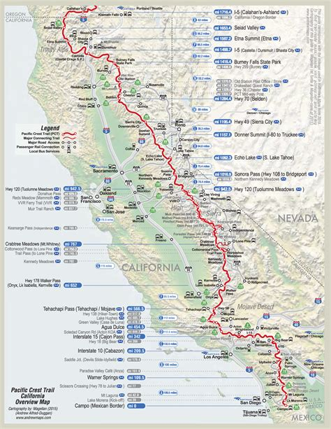 California Section by Pacific Crest Trail Fenella S Adventures