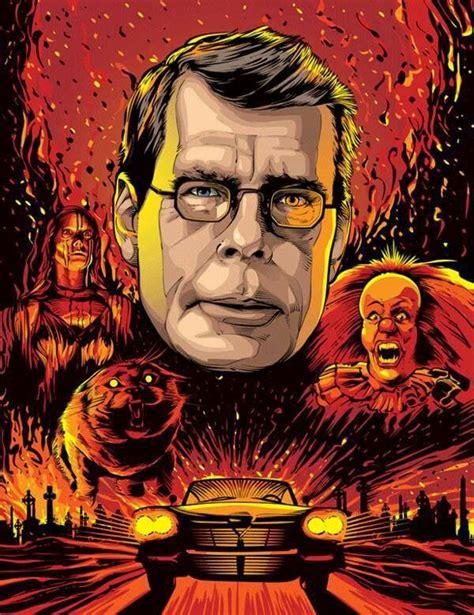 libro the art of horror stephen king movies tv stuff