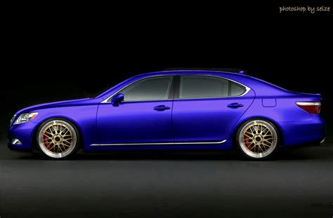 lexus purple photoshop ls 460 purple on bbs vs is f clublexus