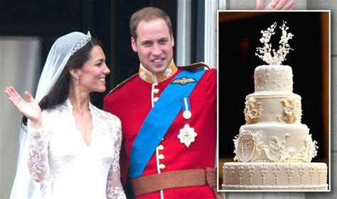 Wedding Cake Kate Middleton by Prince William And Duchess Of Cambridge Kate Middleton Are