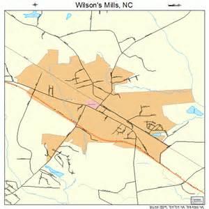 wilson s mills carolina map 3774580