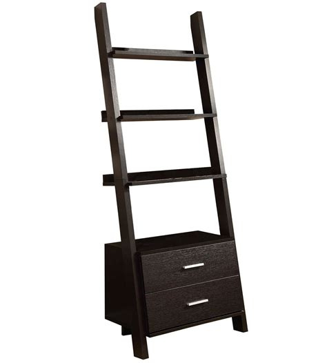 bookcase and storage ladder bookcase with storage drawers in bookcases