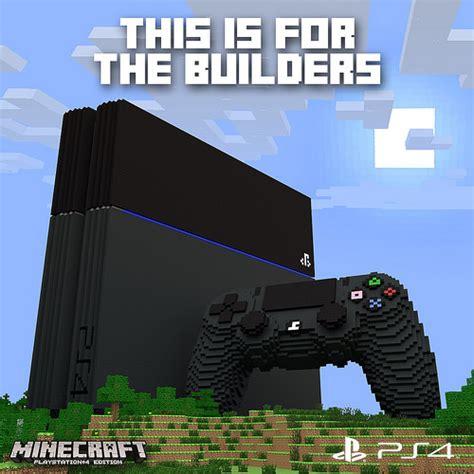 Minecraft PS4 Edition ab sofort verfügbar   inklusive PS3