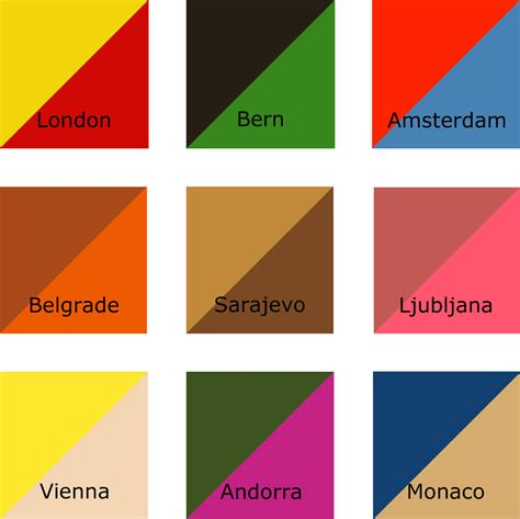 colors starting with a neil harbisson s city colours starting in 2007 harbisson