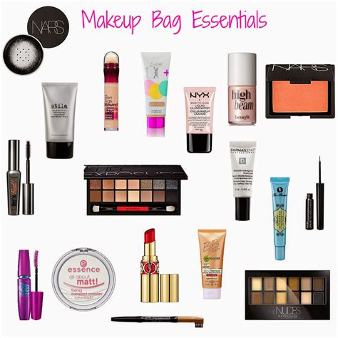 12 Things To In Your Make Up Bag by Eleven Things You Need In Your Makeup Bag Makeup